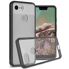 For Google Pixel 3 XL Case Hard Back TPU Bumper Hybrid Shockproof Phone Cover
