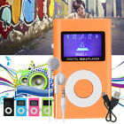 Mini USB MP3 Music Media Player LCD Screen Support 32GB Micro SD TF Card Slot