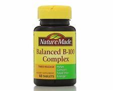 Nature Made Balanced Vitamin B-100 Complex Tablets 60 ea