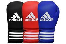 Gants bleu unisexe pour arts martiaux et sports de combat