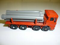 Vintage Lesney Matchbox Series Pipe Truck No. 10 England 7 pipes NICE