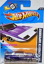 HOT WHEELS 2012 MUSCLE MANIA '70 PLYMOUTH SUPERBIRD W+
