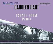 Escape from Paris by Carolyn G. Hart (2013, CD, Unabridged)