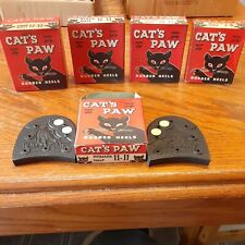 5 Cat'S Paw Rubber Heal Advertising Boxes With Heels 2 Sets
