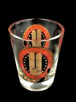 Twin Towers WORLD TRADE CENTER (WTC) NEW YORK CITY SHOT GLASS