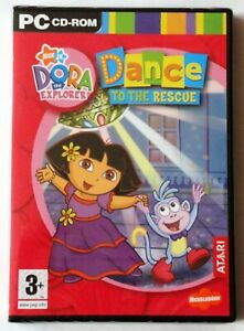 DORA THE EXPLORER DANCE TO THE RESCUE PC CD-ROM GAME brand new & sealed UK