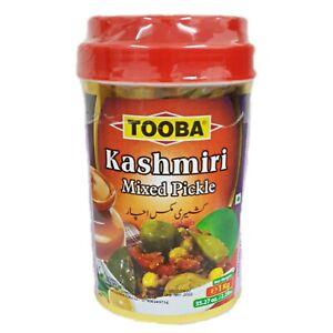 TOOBA KASHIMIRI MIXED PICKLE |Kashmiri Achaar| HOT & SPICY| 1 Kg JAR