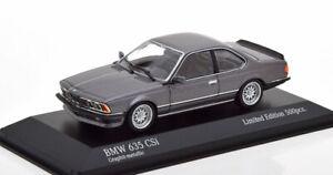 1:43 Minichamps BMW 635 CSi 1982 greymetallic