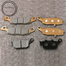 Front + Rear Brake Pads For Suzuki XF 650 Freewind 1997-2003 Motorcycle New