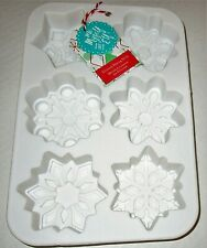 Christmas Silicone Baking Mold Snowflakes By Me Myself and Elf