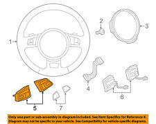 AUDI OEM 15-16 Q3 Steering Wheel-Remote Switch Button 8U0951523GXHA