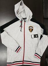 UNK NBA Mens Cleveland Cavaliers Full Zip Jacket Gray Black Medium Retail $80