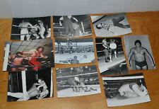 VINTAGE IWA WRESTLING PHOTOGRAPHS LOT VERN HENDERSON DR RED ROBERTS MOUNTAIN MAN