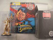 EAGLEMOSS DC FIGURINE COLLEZIONE SPECIALE CENTENARIO Superman con Magazine