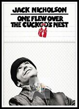 One Flew Over The Cuckoos Nest 5  Poster Greatest Movies Classic Vintage Films