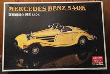 Mercedes Benz 540K Academy Minicraft Model Kit, 1/16th scale, Kit #1516,