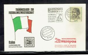 Germany, Soccer Football World Cup 1974, Italy Training Camp Cover