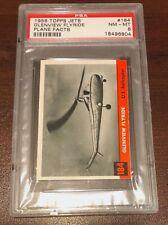 """1956 Topps Jets #184 """"Glenview Flyside""""  PSA 8"""