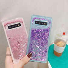 Liquid Quicksand Glitter Soft Case Cover For Samsung Galaxy S10 Plus M30 A70 A40