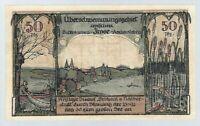 """Notgeld - Frose - Gemeinde Frose in Anhalt - 50 Pfennig - 1921- """"Rätselschein"""""""
