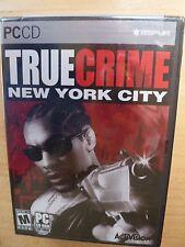 True Crime: New York City (PC, 2006) NEW SEALED