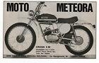 Pubblicità 1973 MOTO METEORA CROSS 5M BOLOGNA MOTOR old advert werbung publicitè