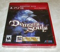 Demon's Souls for Playstation 3 Brand New! Fast Shipping!