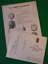 PCL CONSORT WALLAIR AIR HOSE REEL GUIDE (INSTALLATION PARTS MAINTENANCE 60)