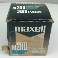 NEW OPEN BOX Maxell MF2HD IBM Formatted 28 Pack High Density Floppy Disks