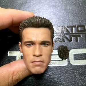 HOT TOYS HOTTOYS 1/6 : FIGURE DX10 TERMINATOR 2 JUDGMENT DAY T-800 : HEAD SET