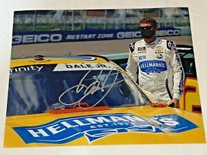 Dale Earnhardt Jr HELLMANS XFINITY SERIES #88 NASCAR autographed 8x10 photo HOF