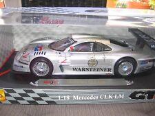 Mercedes-Benz CLK LM MAISTO 1:18 GT-Racing Edition NEU / MINT!