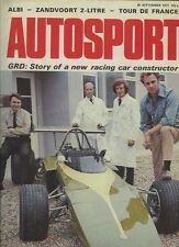 AUTOSPORT 30 settembre 1971 * PORSCHE 911E & 911T & 911S *
