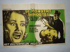 CALTIKI/JOHN MERIVALE// U3/  ORIGINAL belgian poster