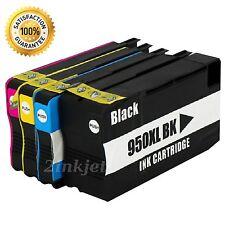 4pk 950XL 951XL Compatible Ink Cartridge For HP OfficeJetPro 8600 8610 8620 8625