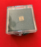 #6 or # 9 lapel pin screw on back 1/4 X 1/4