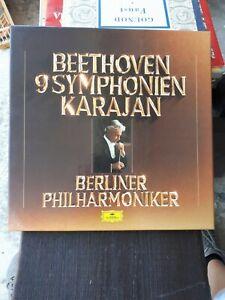 Beethoven 9 Symphonien Karajan - Berliner Philarmoniker BOX 8 LP