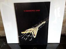 Wishbone Ash Signed Uk Tour Programme 1980.