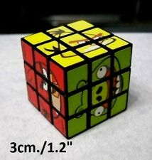 """Cube puzzle brain teaser game Angry Birds (1.2"""" - 3cm.) NEW"""