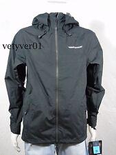 NWT HOMESCHOOL Ghost Shell Waterproof/Breathable Snowboard Jacket Black size S
