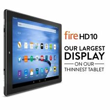 "Amazon Fire HD10 Tablet 10.1"" Touch Display Wi-Fi 16GB (Special Offers, Black)"