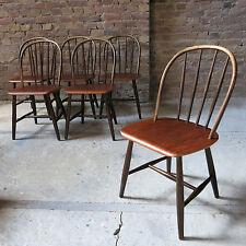 6x Tapiovaara Fanett Stuhl Teak Nesto Danish Design 60er Midcentury