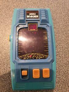 Bandai Electronics Missile Invader Vintage 1980's LED Electronic Game (working)