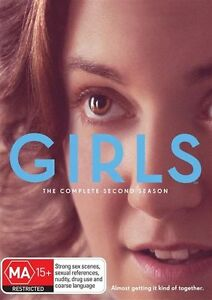 GIRLS Season 2 : DVD NEW & SEALED - FREE DELIVERY