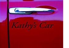 Personalised Car VAN LAPTOP PC PARTS Vinyl Letters,Names,Stickers Signs X 2