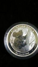 2013 10 oz Silver Australian Koala Coin Bullion BU