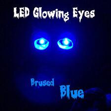 "LED GLOWING EYES HALLOWEEN BLUE 5MM 9 VOLT WIDE ANGLE 9V 12"""