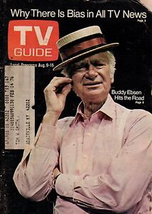 1975 TV Guide August 9 - Buddy Ebsen; Emergency;Pat Buttram; Amost anything Goes
