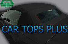 "98-04 C5 Corvette Convertible Top & Heated Glass ""Robbins"" Black Twillfast Cloth"