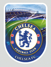 3D Medium Universal Sticker Chelsea FC Official Blues for Console iPad New